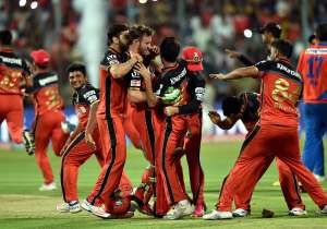 RCB enters IPL final- India Tv