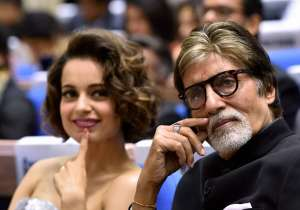 Amitabh Bachchan and Kangana Ranaut- India Tv