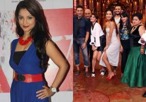 Adaa Khan, Housefull 3 team on Comedy Nights Bachao- India Tv