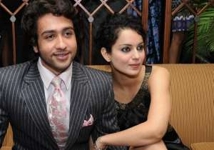 Adhyayan Suman with Kangana Ranaut - India Tv