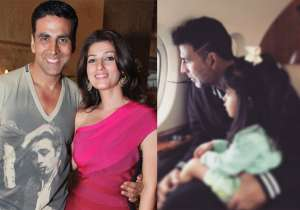 Akshay Kumar, Twinkle Khanna and Nitara- India Tv