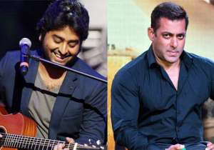 Arijit Singh and Salman Khan- India Tv