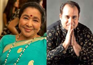 Rahat Fateh Ali Khan finds a new admirer in Asha Bhosle- India Tv
