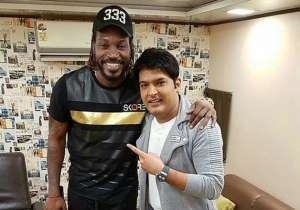 Chris Gayle and Kapil Sharma- India Tv