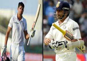 Alastair Cook on the verge of breaking Sachin Tendulkar's 11-year old record!- India Tv