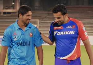 Deepak Malik with Zaheer Khan- India Tv