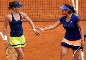 Sania Mirza, Martina Hingis- India Tv