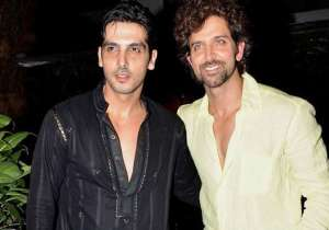 Hrithik Roshan with Zayed Khan- India Tv
