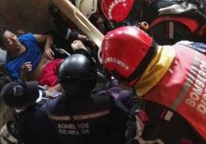 Manuel Vasquez was pulled out by a team of Venezuelan rescuers - India Tv
