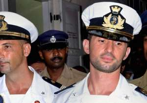 Italian marines Salvatore Girone and Massimiliano Latorre - India Tv
