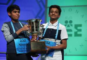 Spellers Nihar Saireddy Janga and Jairam Jagadeesh Hathwa- India Tv