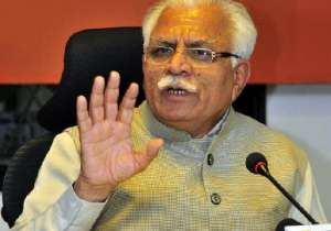 Manohar Lal Khattar- India Tv