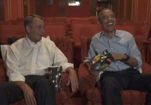 John Boehner and Barack Obama- India Tv