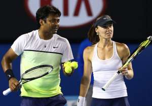Leander Paes, Martina Hingis- India Tv
