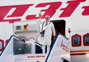 PM Modi's flight including 27 others diverted due to bad weather in Delhi- India Tv