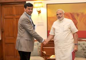 Raghuram Rajan and Narendra Modi- India Tv