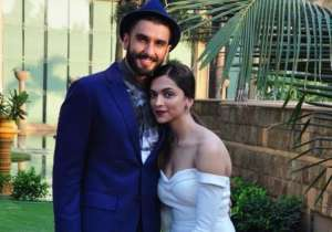 Ranveer Singh with Deepika Padukone- India Tv