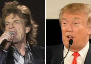 Rolling Stones and Donald Trump- India Tv