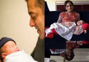 Salman Khan shares adorable picture of 'Nanha Ahil' with 'Salma Nani'- India Tv