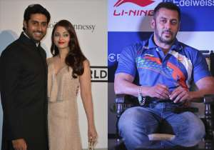 Abhishek Bachchan with Aishwarya, Salman Khan- India Tv