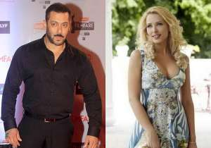 Salman Khan, Iulia Vantur- India Tv