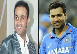 Virender Sehwag-Rohit Sharma- India Tv