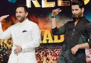 Shahid Kapoor and Saif Ali Khan- India Tv