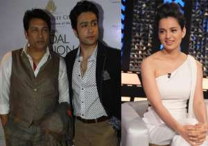 Shekhar Suman with son Adhyayan, Kangana Ranaut- India Tv