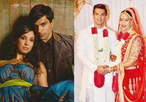 Karan Singh Grover with Shraddha Nigam, Bipasha Basu's pic from her wedding- India Tv