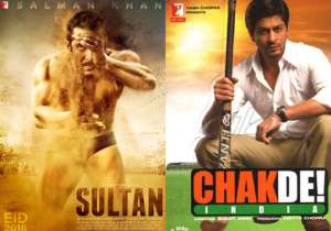 Salman's 'Sultan' on same lines as SRK's Chak De! India'. Here's the proof!- India Tv