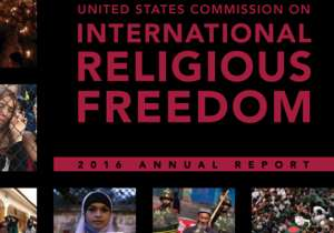 In 2015, religious tolerance deteriorated in India: USCIRF- India Tv