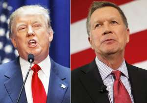 Donald Trump and John Kasich- India Tv