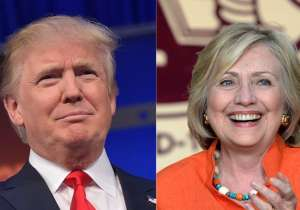 Donald Trump, Hillary Clinton- India Tv