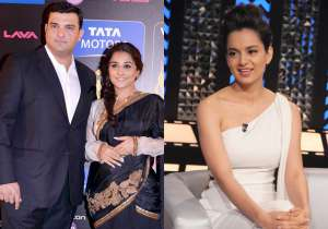 Vidya Balan with Siddharth Roy Kapur, Kangana Ranaut- India Tv