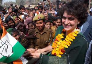 File pic - Priyanka Gandhi - India Tv