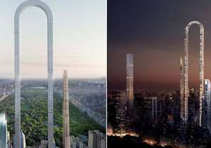 This weird U-shaped building in New York is going to be the- India Tv