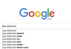 Top Internet searches on Yogi Adityanath