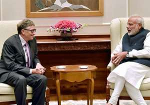 Bill Gates praises PM Modi's 'Swachh Bharat' mission- India Tv