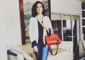 Manisha Koirala rules all over in this picture. The bag and shoes catch the eye.