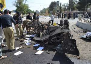 11 killed, 20 injured as bomb explodes near IGP office in- India Tv