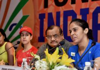 Nehwal speaks as Akhilesh Das Gupta, Sindhu,...
