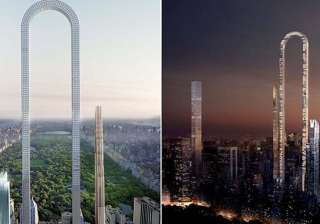 This weird U-shaped building in New York is going...
