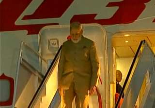 PM Modi arrives in US on the second leg of...