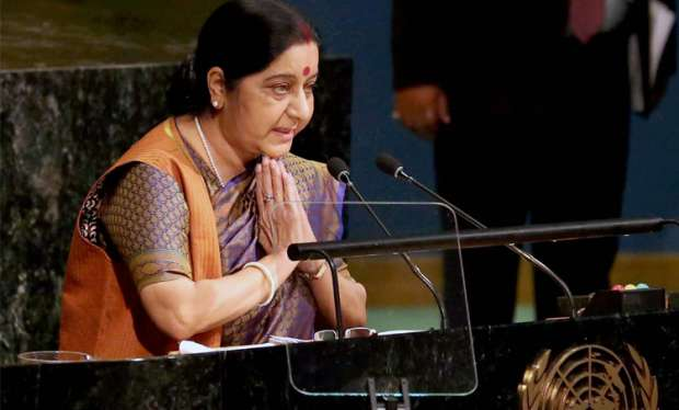 Sushma Swaraj at UN General Assembly