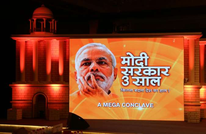 India close to ache din after three years of honest