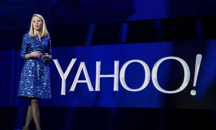 Yahoo president and CEO Marissa Mayer