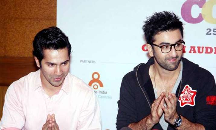 When ranbir kapoor gave a life mantra to newbie varun dhawan ranbir kapoor taught a life mantra to newbie varun dhawan pmusecretfo Images