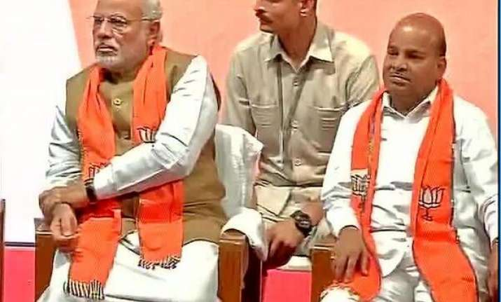 Gehlot with PM Modi