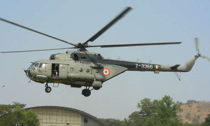 Mi-17 helicopter, Mi-17, Indian Air Force, Chamoli