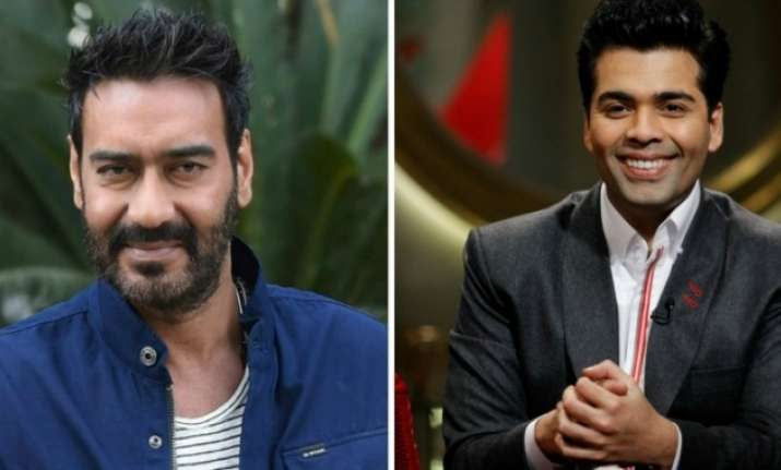 Box office rival Ajay Devgn comes out in KJo's support
